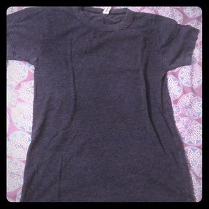 Like new fitted super soft grey t-shirt